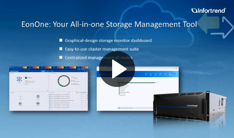 EonOne for CS: Your All-in-one Storage Management Tool