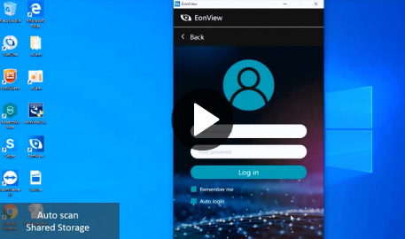 EonView Introduction - A Smart Client Utility Software for Easy File Sharing