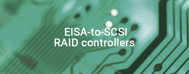 First EISA-to-SCSI RAID controllers shipped