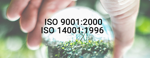 Infortrend certified for ISO 9001:2000 and ISO 14001:1996