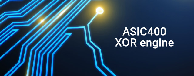 Introduced the ASIC400 XOR engine