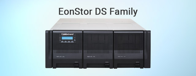 EonStor DS Family now available in high-density 48-bay solutions
