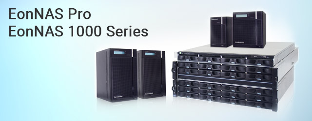 Infortrend launches EonNAS Pro and EonNAS 1000 Series