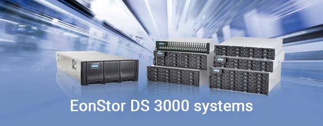 Launched future-proof EonStor DS 3000