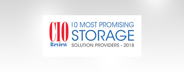 Infortrend as one of Top 10 Most Promising Storage Solution Provider in 2018