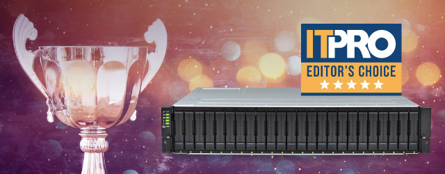 EonStor GSa 2024: Editor's Choice Award from IT Pro in 2019