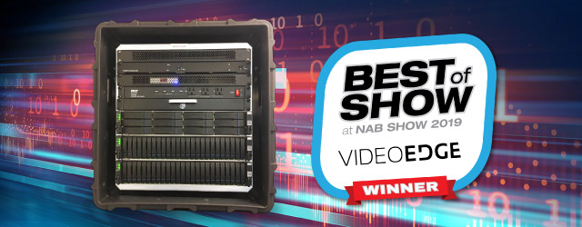 EonStor GSa All-flash SAN-in-a-Box wins Best of Show Award at 2019 NAB