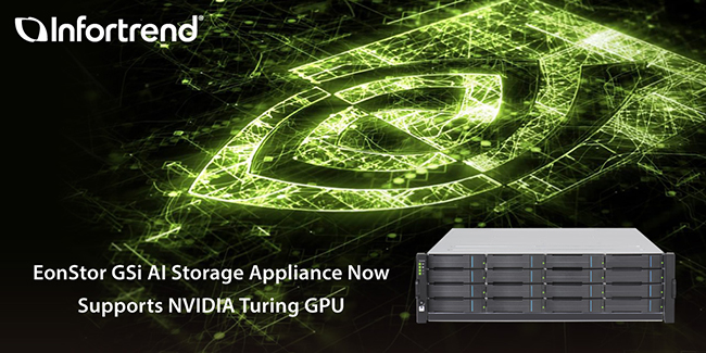 Infortrend's EonStor GSi AI Storage Appliance now supports