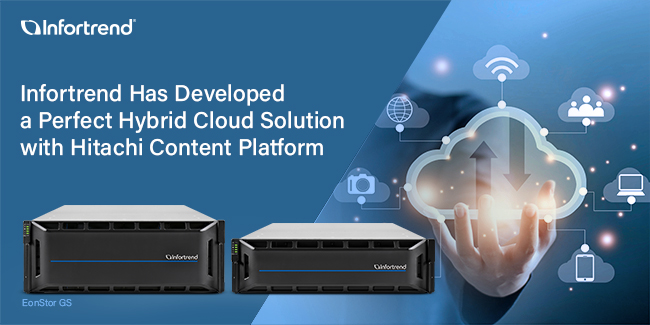 Perfect Hybrid Cloud Solution of EonStor GS