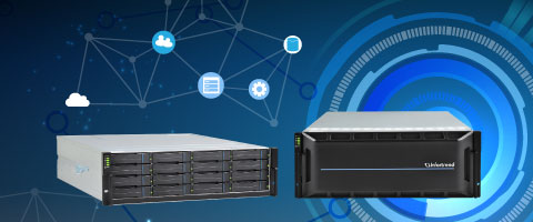 EonStor GS - High Availability Unified Storage (NAS/SAN)