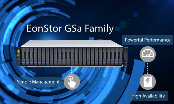 EonStor GSa Family - The Most Powerful and Stable All-Flash Storage