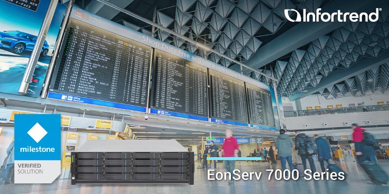 EonServ 7000 x Milestone