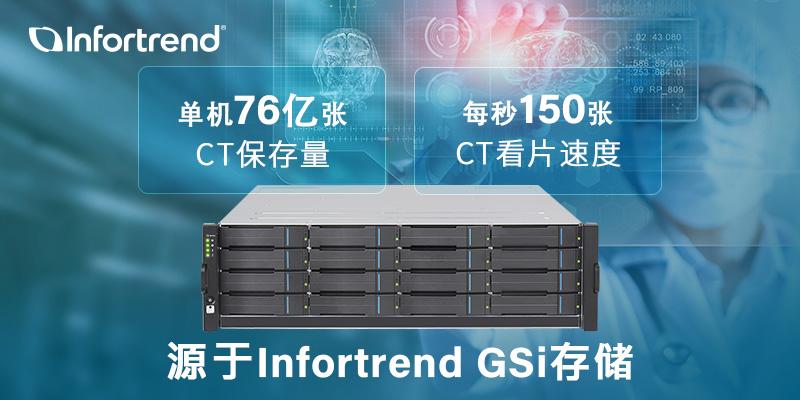 Infortrend GSi AI智能存储医疗解决方案
