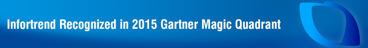 Infortrend Recognized in 2015 Gartner Magic Quadrant