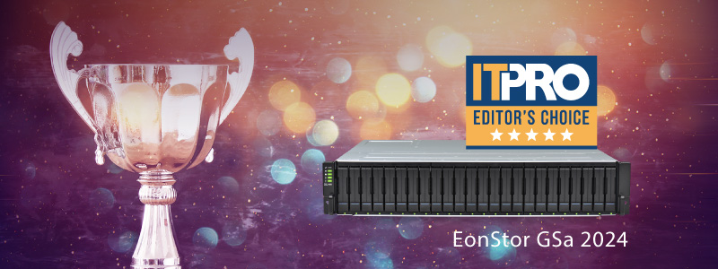 EonStor GSe Pro 100 : The Ideal Entry-level Commercial Desktop Storage for SMBs