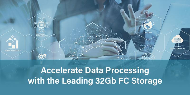32Gb FC Storage