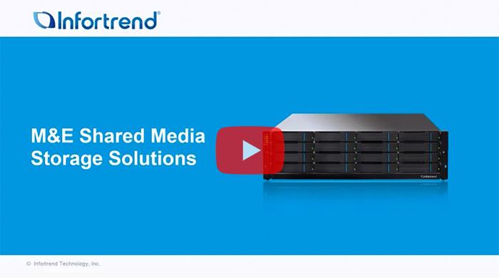 M&E Shared Media Storage Solutions