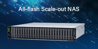 All-flash Scale-out NAS