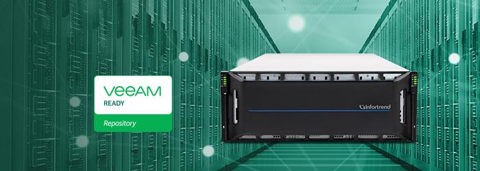 EonStor CS Scale-out Designated As Veeam Ready
