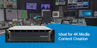Ideal for 4K Media Content Creation