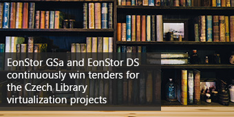 Czech Library deploys Infortrend storage for virtualization clusters