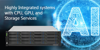 Highly Integrated systems with CPU, GPU, and Storage Services