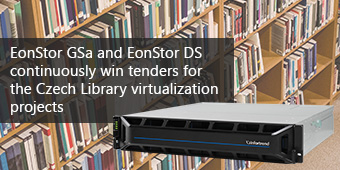 Czech Library chooses Infortrend SAN and all-flash unified storage for virtual servers