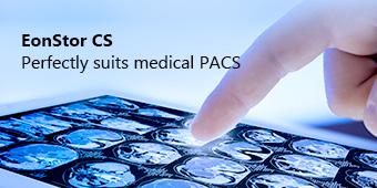EonStor CS Perfectly suits medical PACS
